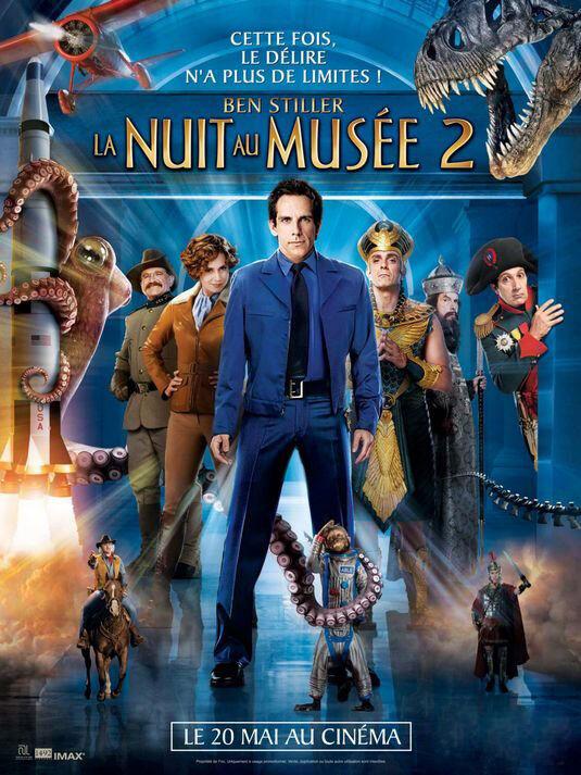 《博物馆奇妙夜2》7月25—31日隆重上映龙泉电影院
